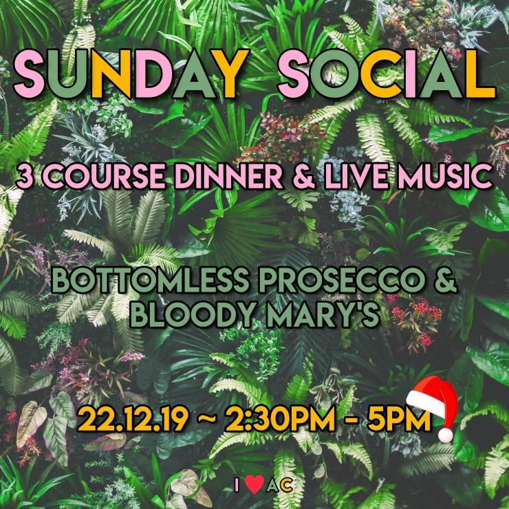 Christmas Sunday Social